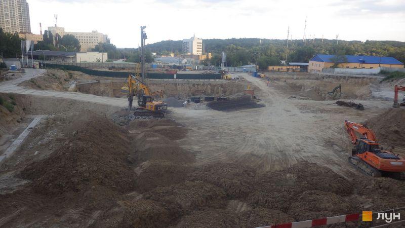 Ход строительства ЖК Fjord, , июль 2020