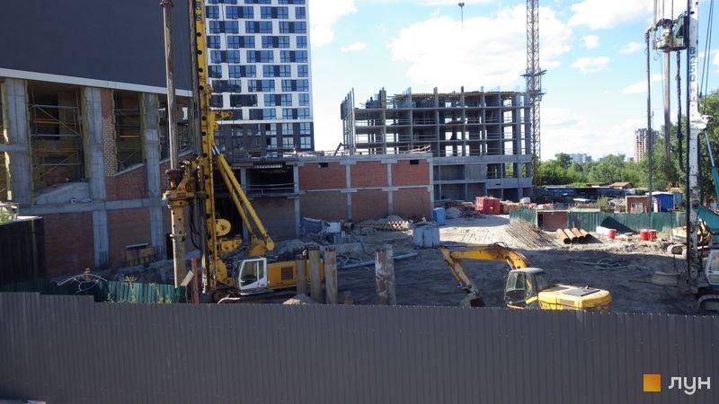 Хід будівництва ЖК Славутич 2.0, , липень 2020
