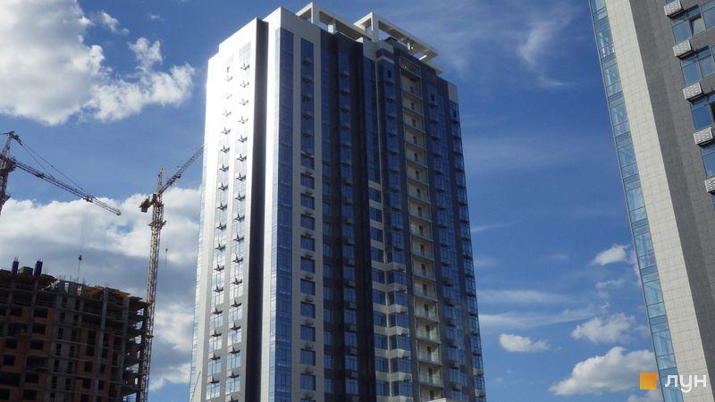 Хід будівництва ЖК RiverStone, 8 будинок, липень 2020