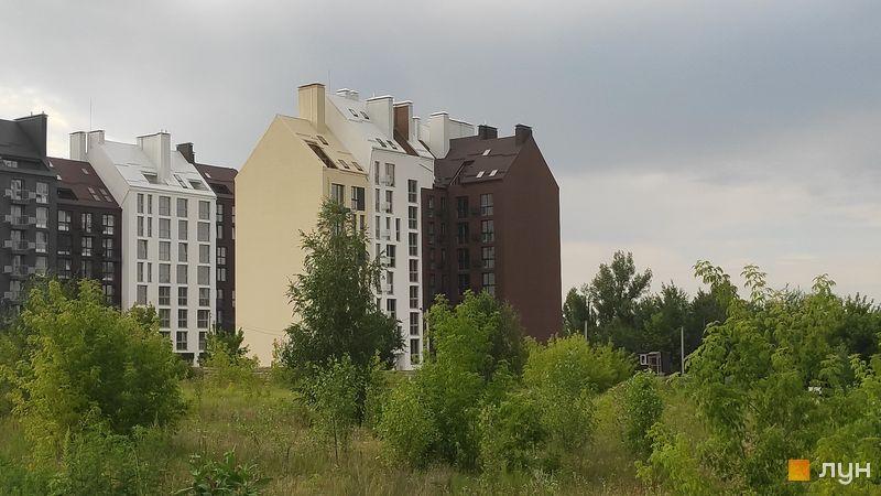 Ход строительства ЖК Белый Шоколад.Center, 10 очередь (ул. Величка, 26), июль 2020