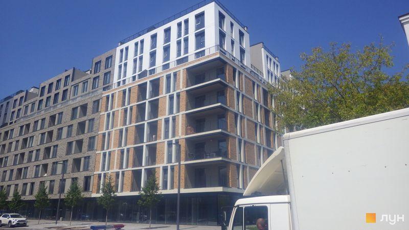 Хід будівництва Житловий район Rybalsky, 3 будинок, липень 2020