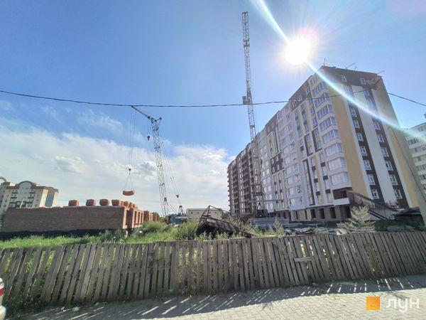Хід будівництва ЖК Ранкове Family, 4, 5 будинки, серпень 2020