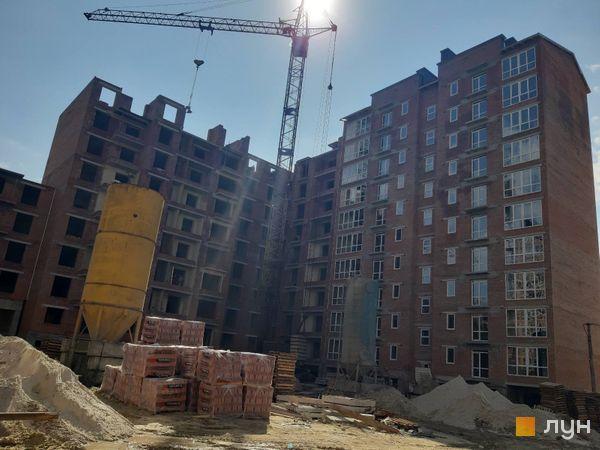 Ход строительства ЖК Квартал Галицкий, , июль 2020