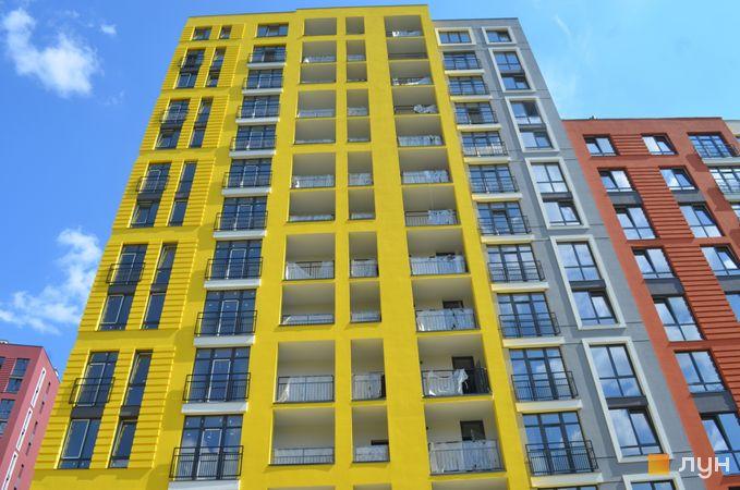 Ход строительства ЖК Семицвет, 10 дом (секция 1), август 2020