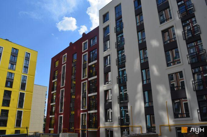 Ход строительства ЖК Семицвет, 10 дом (секции 4-5), август 2020