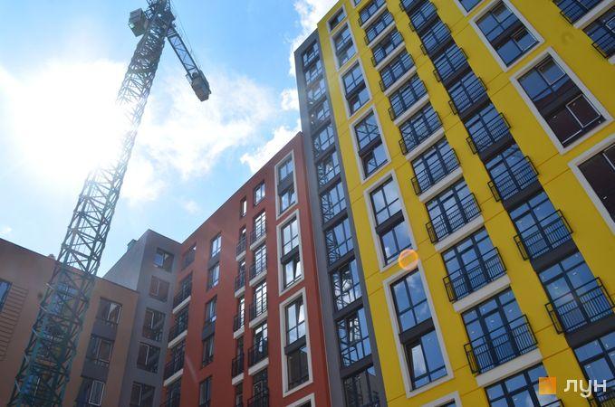 Ход строительства ЖК Семицвет, 10 дом (секция 2), август 2020