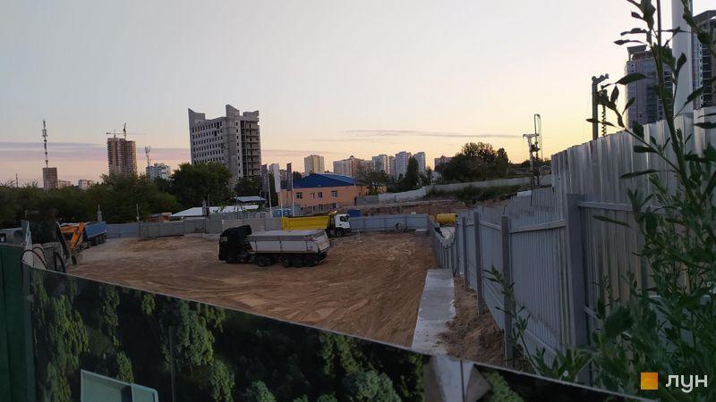 Ход строительства ЖК Delrey, , август 2020