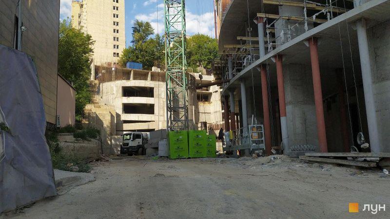 Ход строительства ЖК Mirax, , август 2020
