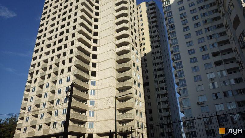 Хід будівництва ЖК Східна Брама, 3 будинок (секції 5, 6), серпень 2020