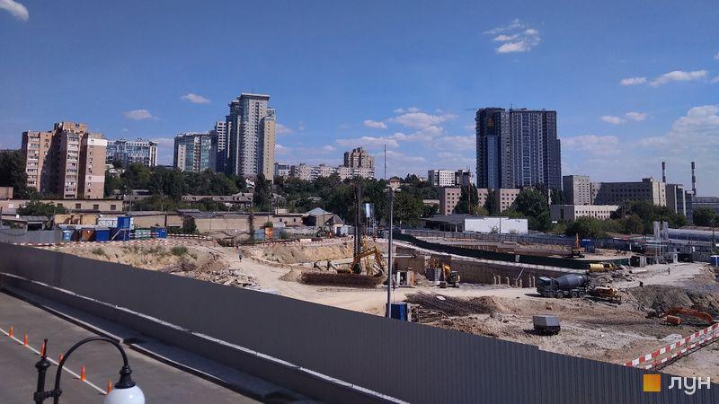 Ход строительства ЖК Fjord, , август 2020