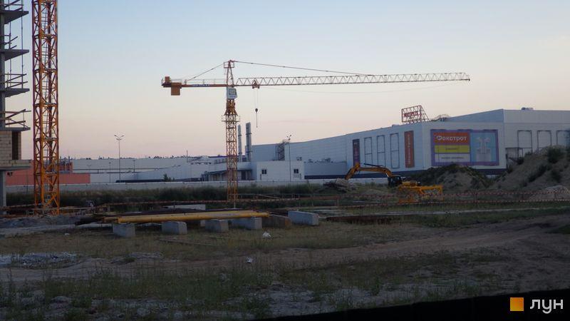 Ход строительства ЖК LUCKY LAND, , август 2020