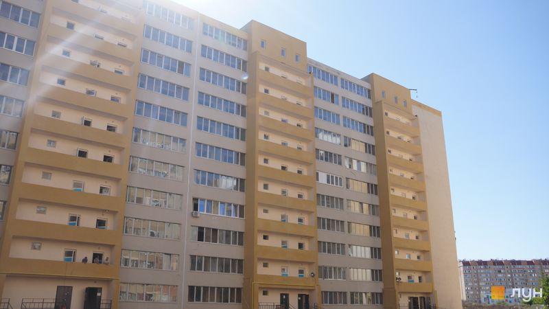 Ход строительства ЖК Сахарова, 7, 8 секции, август 2020