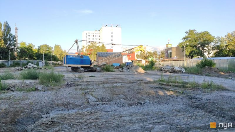 Хід будівництва ЖК Passage Park, , серпень 2020