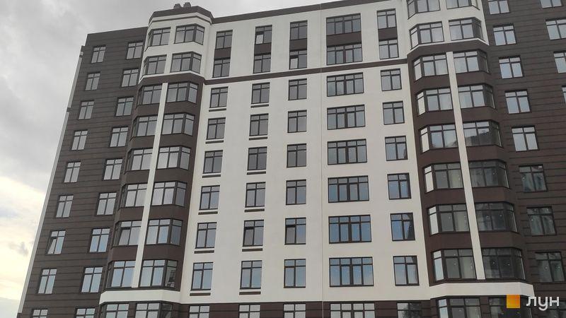 Ход строительства ЖК Пражский квартал 2, 2 дом (секции 3-4), август 2020