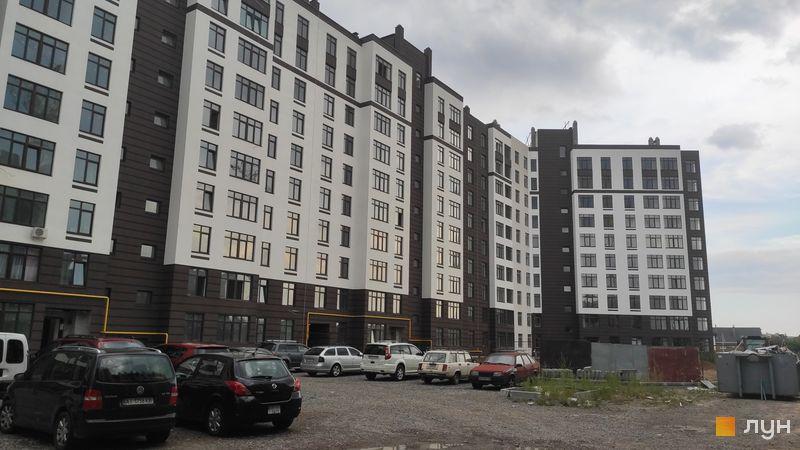 Ход строительства ЖК Пражский квартал 2, 2 дом, август 2020
