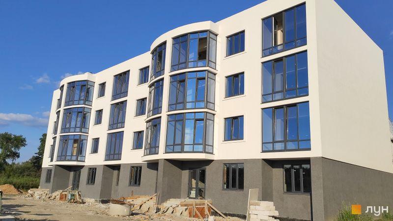 Ход строительства ЖК Ибис, 4 дом, август 2020
