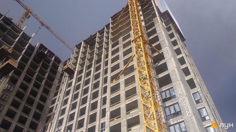 Ход строительства ЖК DOCK32, 1 дом, август 2020