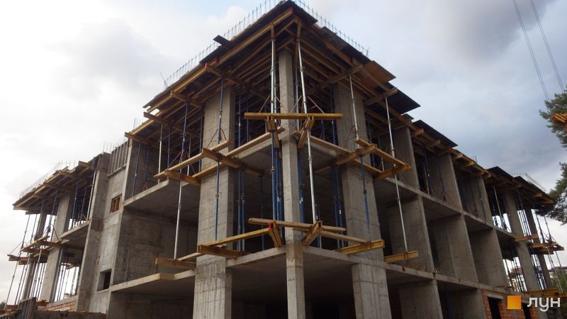 Хід будівництва ЖК Клубний будинок-2, Будинок, серпень 2020