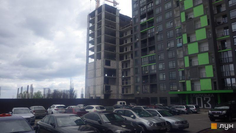 Ход строительства ЖК Champion City (Демеевский квартал), 4 секция, август 2020