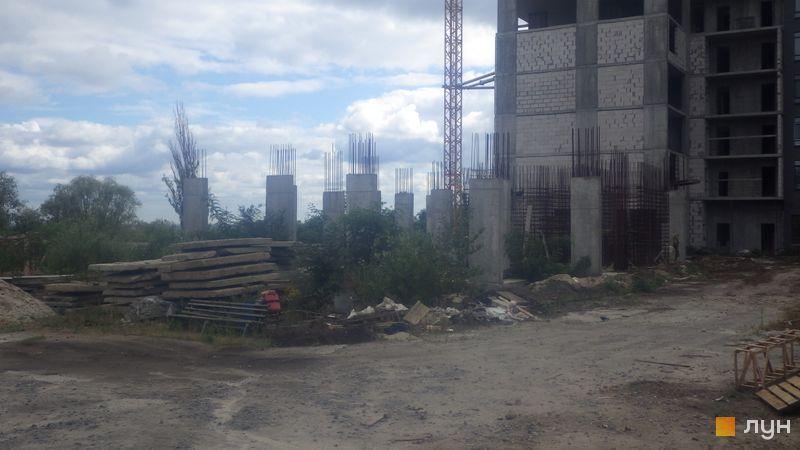 Ход строительства ЖК Champion City (Демеевский квартал), 5 секция, август 2020
