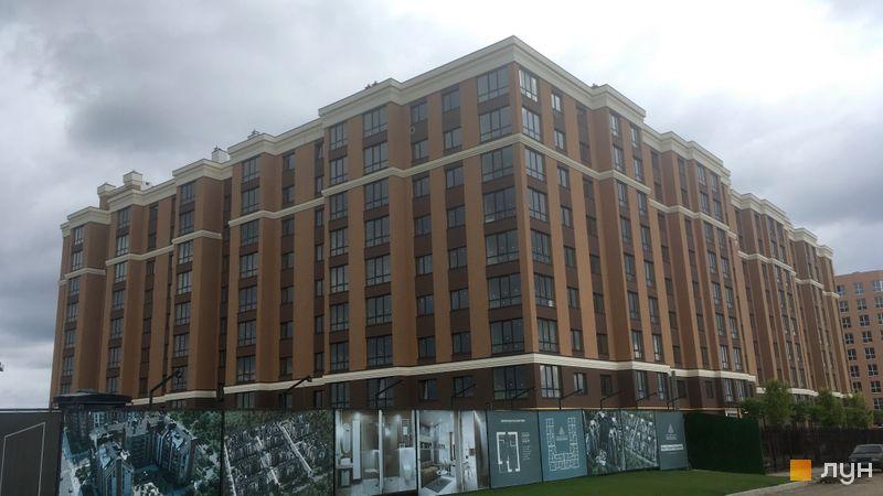 Ход строительства ЖК Софиевские Липки, 1 дом, август 2020