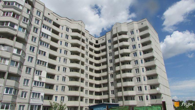 Ход строительства ЖК Петровский обновленный, 2 дом (секции 1, 2, 3), май 2016