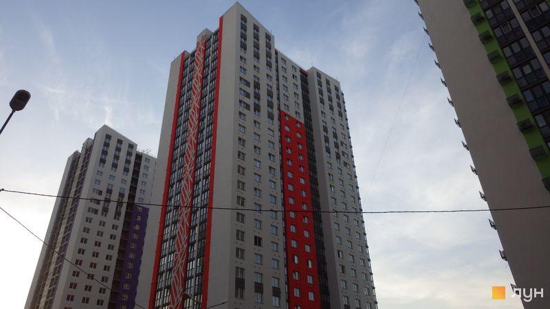 Ход строительства ЖК Выгуровщина-20, 2 дом, август 2020
