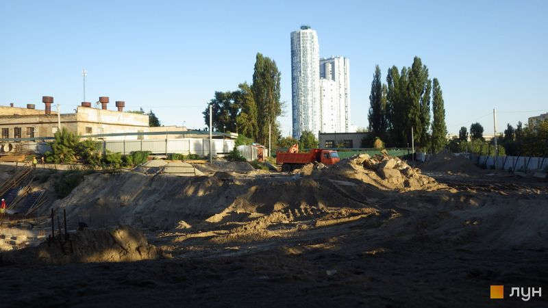 Хід будівництва ЖК Rusaniv Residence, , серпень 2020