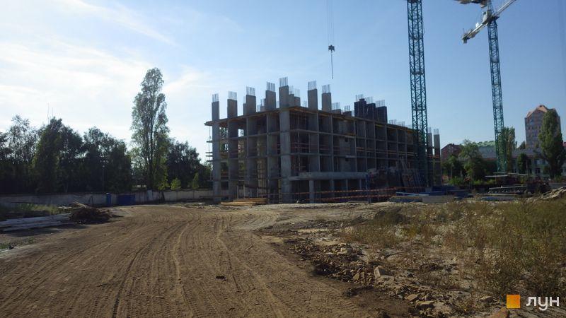 Ход строительства ЖК Star City, 1 дом, август 2020
