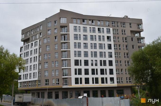 Хід будівництва ЖК Роланд, Будинок, вересень 2020