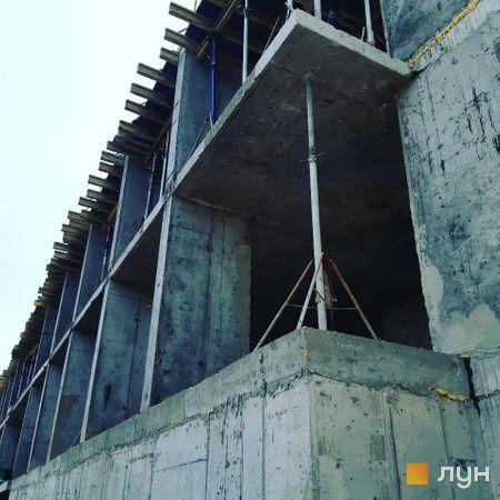 Хід будівництва ЖК Лісопарковий, Будинок, вересень 2020