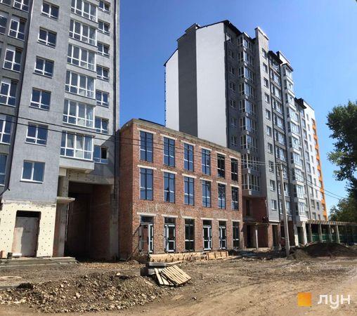 Ход строительства ЖК Квартал Галицкий, , сентябрь 2020