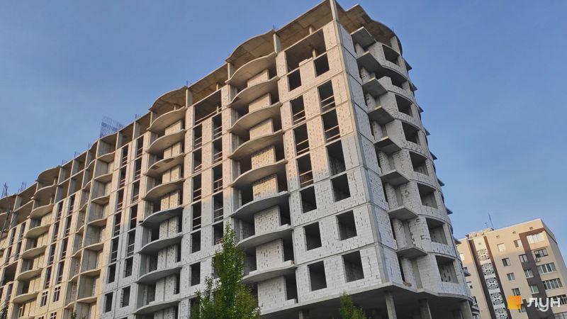 Хід будівництва ЖК Central Park, Будинок 1, вересень 2020