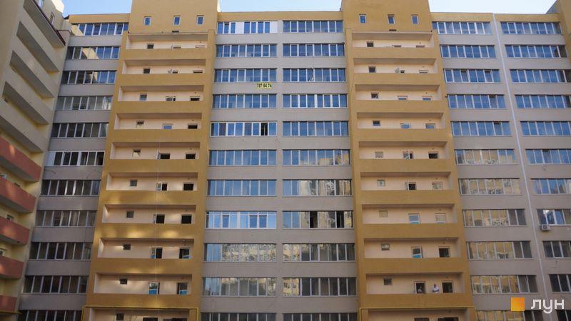 Ход строительства ЖК Сахарова, 5, 6 секции, сентябрь 2020
