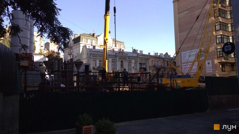 Хід будівництва ЖК Krauss Gallery, , вересень 2020