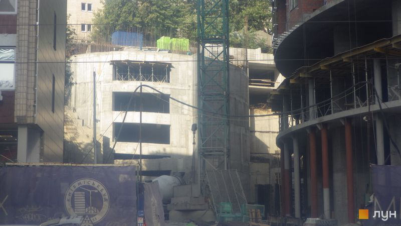 Ход строительства ЖК Mirax, , сентябрь 2020
