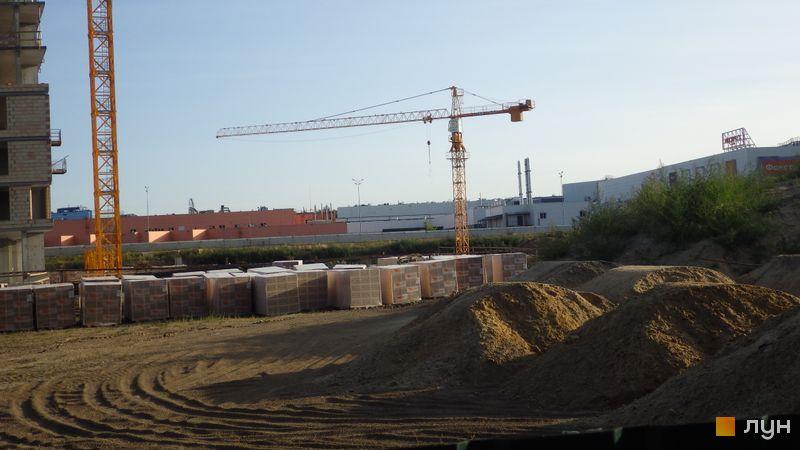 Ход строительства ЖК LUCKY LAND, , сентябрь 2020