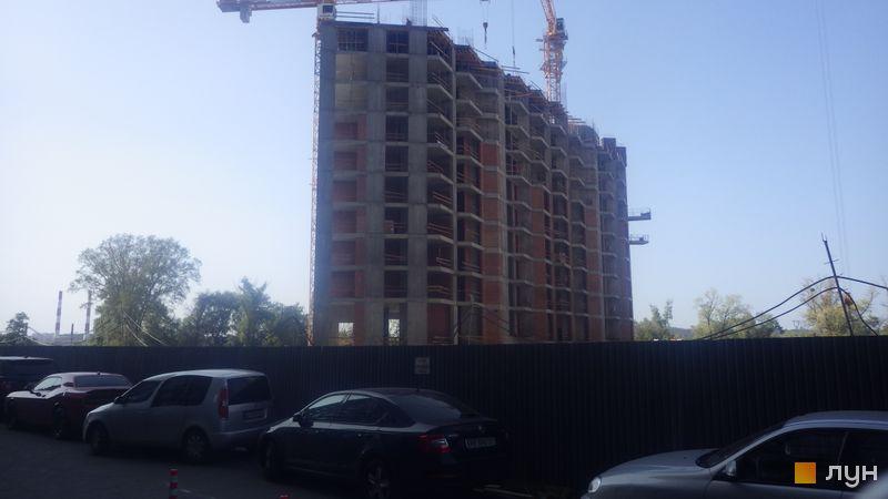Хід будівництва ЖК Зарічний, 7 будинок, вересень 2020