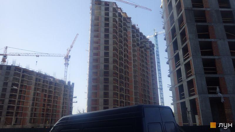 Хід будівництва ЖК Зарічний, 8 будинок, вересень 2020