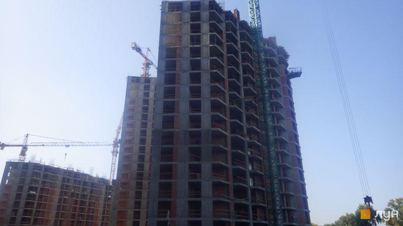 Хід будівництва ЖК Зарічний, 9 будинок, вересень 2020