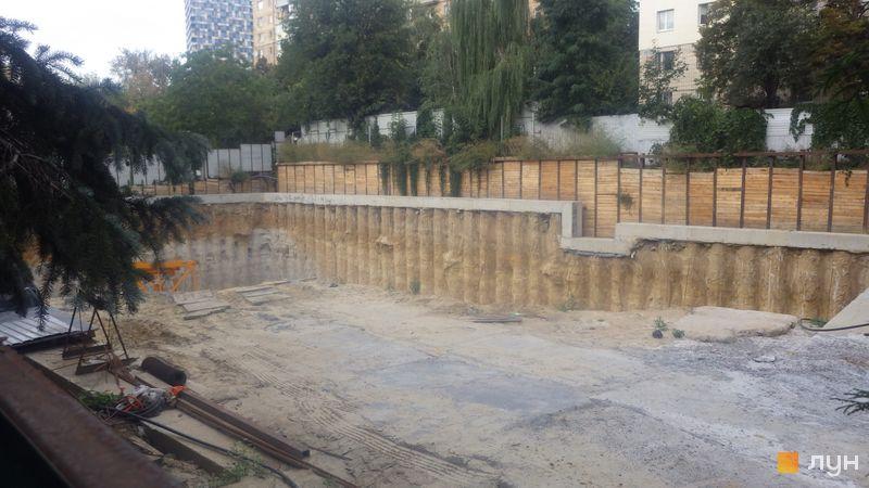 Ход строительства ЖК Washington Concept House, , сентябрь 2020