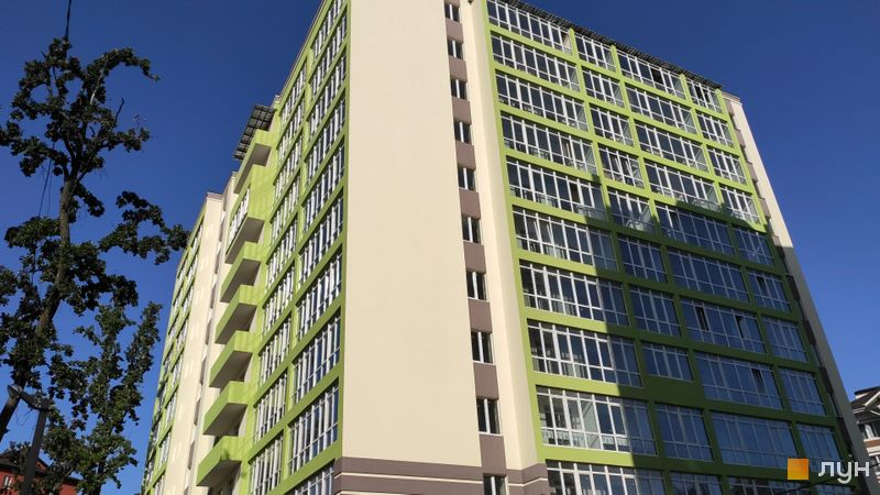 Ход строительства ЖК Ваш Добробут, Дом, сентябрь 2020