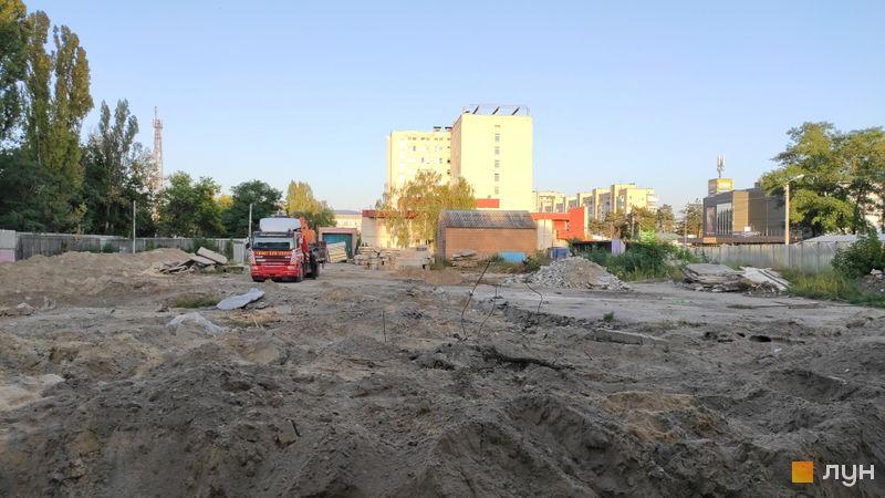 Хід будівництва ЖК Passage Park, , вересень 2020