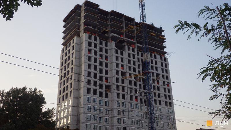 Ход строительства ЖК UNO City House, Дом, сентябрь 2020