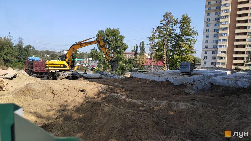 Хід будівництва ЖК Вишгород Плаза, , вересень 2020