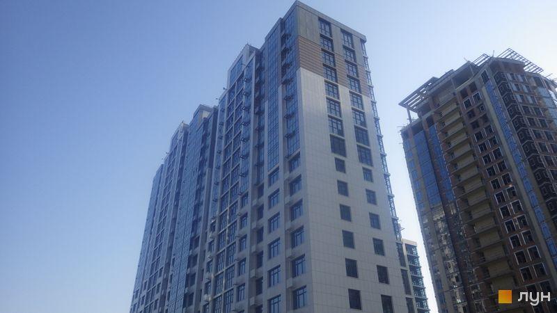 Хід будівництва ЖК Новопечерські Липки, 70 будинок, вересень 2020