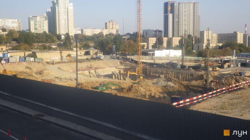 Ход строительства ЖК Fjord, , сентябрь 2020