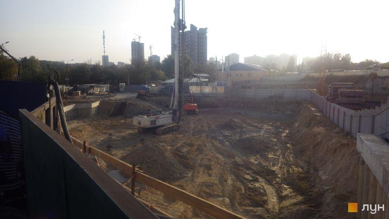 Ход строительства ЖК Delrey, , сентябрь 2020