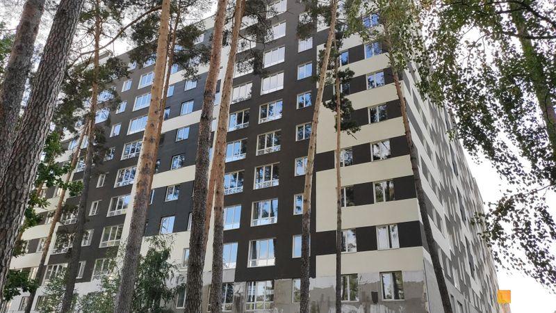 Ход строительства ЖК Chehov Парк Квартал, 1 дом, сентябрь 2020