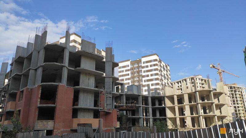 Ход строительства ЖД Панорамный 2, Дом, сентябрь 2020
